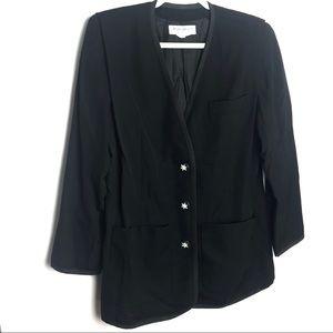 Vintage Yves Saint Laurent star button blazer